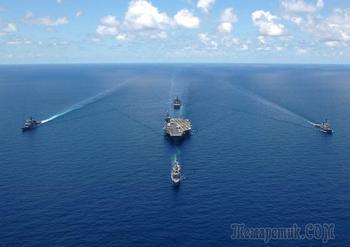 «Они утонули?!». Как США умудрились потерять все авианосцы в Атлантике