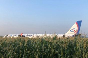Десятки людей пострадали при посадке самолета в Жуковском
