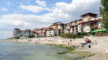 Болгарское побережье Черного моря 32. Святой Влас. Курортный комплекс Этара