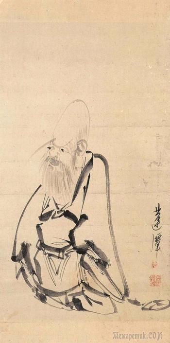 Корейская живопись. Ким Мён Гук - Kim Myong Guk (김명국) (1600-1663?)