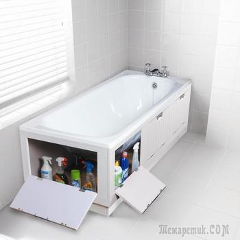 13 дизайнерских решений, как превратить маленькую ванную в просторную
