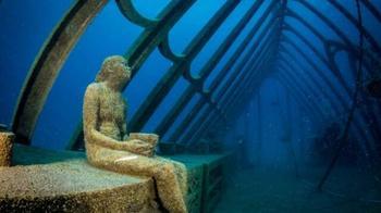 Парк подводных скульптур в Австралии