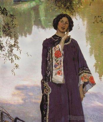 Певец «Святой Руси » —картины  Михаила Васильевича Нестерова.