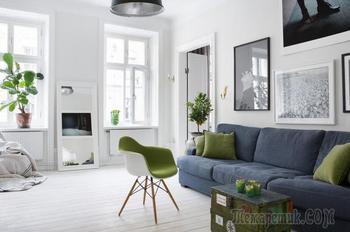 Стокгольм – квартира в скандинавском стиле