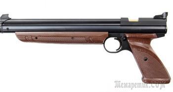 Пневматический пистолет Crosman 1377C — недорогая модель с внушительными характеристиками
