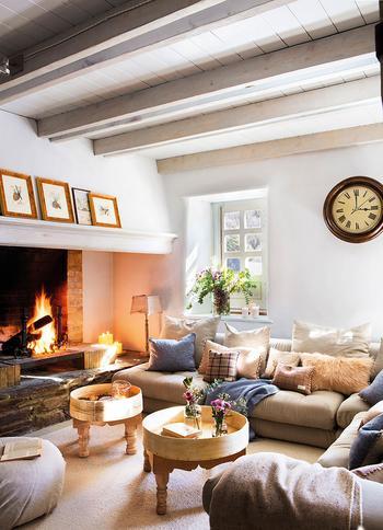 Прекрасный зимний дом в Пиренеях