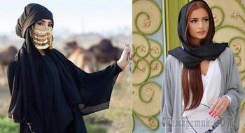 Застарелые стереотипы о том, как одеваются женщины на Востоке, в Азии и в Европе