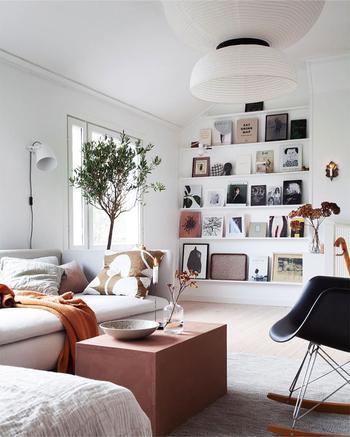 Очень уютный и согревающий скандинавский интерьер блогера в Стокгольме