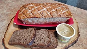 Мясной хлеб из курицы