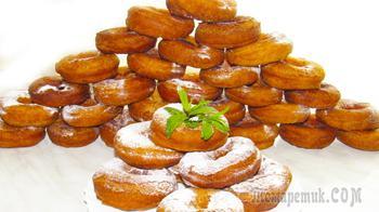 Творожные пончики, которые получаются всегда!