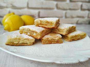 Вкуснейший трехслойный лимонник (Лимонный пирог)