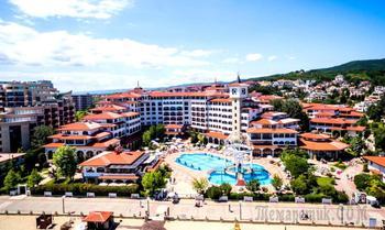 Болгарское побережье Черного моря 38. Солнечный берег - отель Helena Resort
