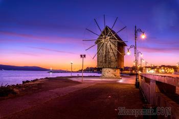 Болгарское побережье Черного моря 42. Вечер в Старом Несебре