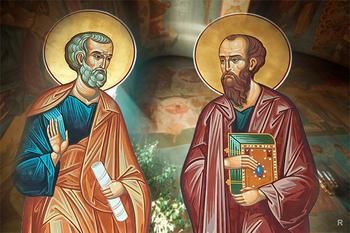 Петр и Павел: как братья от одного Отца