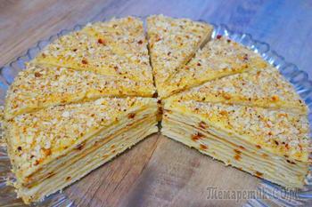 Торт без выпечки на сковороде! Этот вкус не передать словами!
