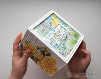 Коробка своими руками из газетных трубочек