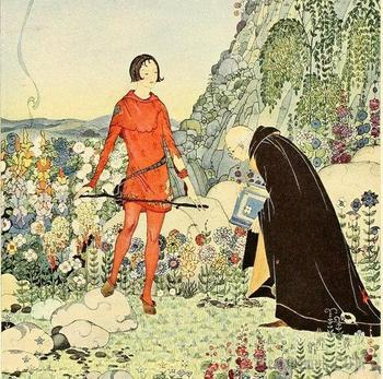 Иллюстрации к сказкам Вирджинии Фрэнсис Стеррет(1900–1931)