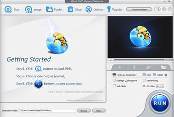 WinX DVD Ripper – лучший конвертер для видео для Windows