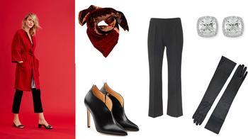 Модный цвет «гренадин»: 5 стильных образов на каждый день