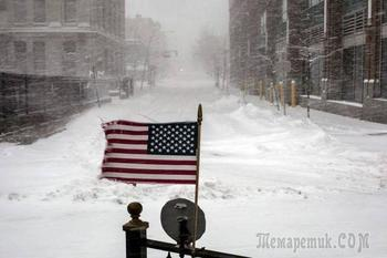 Рекордные морозы и снег оставили без света миллионы американцев