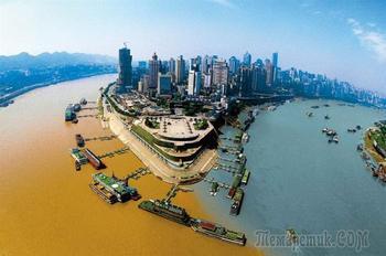 9 удивительных мест, где реки соединяются воедино
