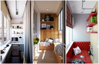 18 изумительных идей оформления лоджии, которые сделают её настоящим «сердцем» квартиры