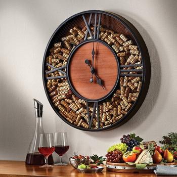 Часы для любителей вина
