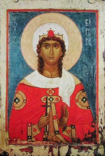 Святая Варвара: в чем помогает? Молитва святой Варваре