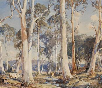 Живопись австралийского художника