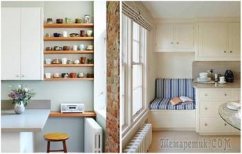 10 идей, чем занять пустое место на неудачно спроектированной кухне