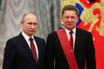 "Миллера наградили орденом ""За заслуги перед Отечеством"" I степени"