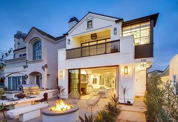 Как выглядит дом бывшего дизайнера одежды в Калифорнии