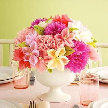 Из крепированной бумаги цветы: пошаговая инструкция с фото