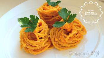 Вкуснятина из макарон с необыкновенным соусом можно в пост