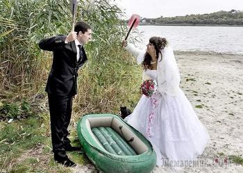 Ох, обломище! Этим влюблённым парам свадебный фотограф ну совсем не угодил