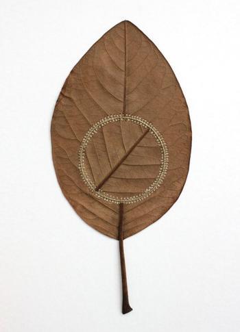 Изящные скульптуры из листьев Сюзанны Бауэр