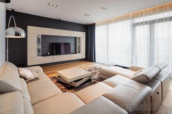 Двухэтажная квартира в центре Бухареста