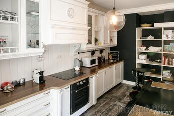 Две минские квартиры в стиле фьюжн, созданные дизайнером для одной семьи