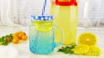 Лимонад за 30 минут! Готовится быстро и просто, а выпивается еще быстрее!