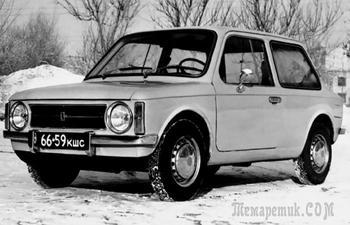 Почему первый автомобиль с передним приводом от ВАЗ не получил билет в жизнь