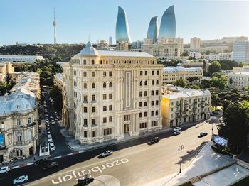 Фото прогулка по Баку