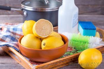 Лучше, чем любая «химия»: малоизвестные возможности использования лимона в быту