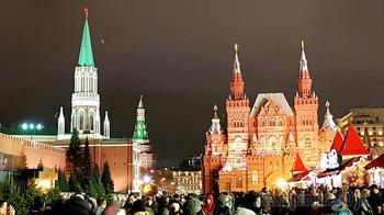Москва новогодняя 06. Красная площадь и Кремль