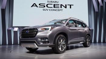 Кроссовер Subaru Ascent – пока с приставкой Concept