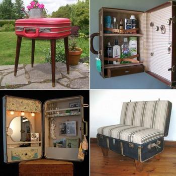 Идеи поделок из старых чемоданов