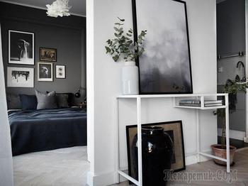 Маленькая, но стильная квартира в Швеции (32 кв. м)