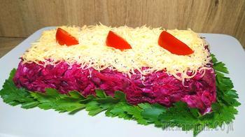 Съедается быстрее шубы, готовится намного проще! Салат из трех ингредиентов!