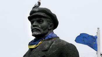 Украина отчиталась о полной победе над Лениным