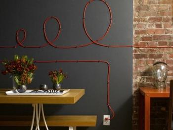Как спрятать электрические провода