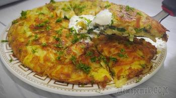 Вкуснятина из картофеля на завтрак или на ужин